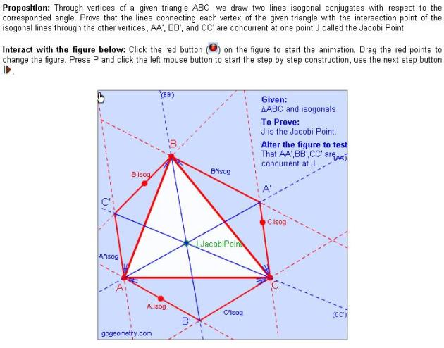 Jacobi's theorem